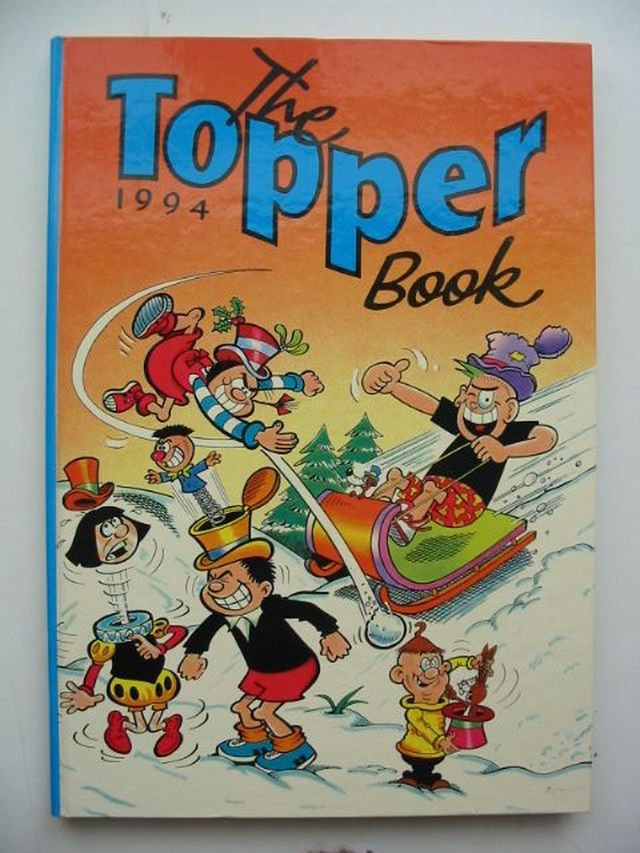 Photo of THE TOPPER BOOK 1994 published by D.C. Thomson & Co Ltd. (STOCK CODE: 1701470)  for sale by Stella & Rose's Books