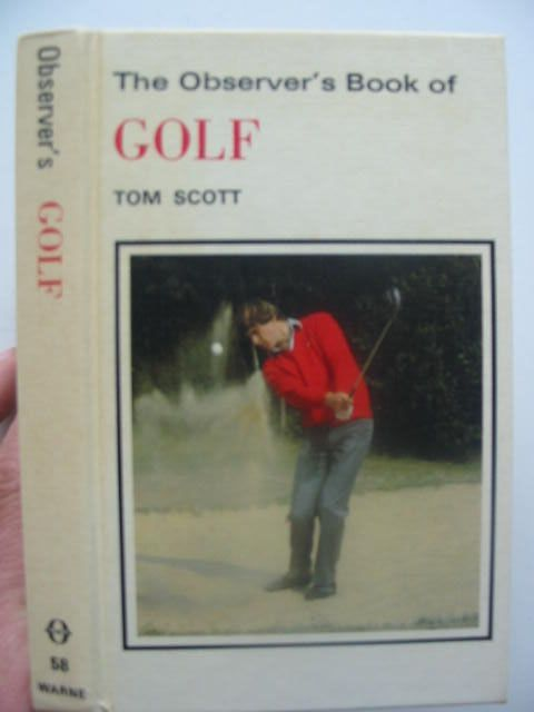 Photo of THE OBSERVER'S BOOK OF GOLF written by Scott, Tom published by Frederick Warne & Co Ltd. (STOCK CODE: 1702127)  for sale by Stella & Rose's Books