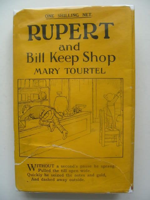 Photo of RUPERT AND BILL KEEP SHOP - RUPERT LITTLE BEAR LIBRARY No. 34 written by Tourtel, Mary illustrated by Tourtel, Mary published by Sampson Low, Marston & Co. Ltd. (STOCK CODE: 1702252)  for sale by Stella & Rose's Books