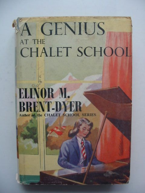 Photo of A GENIUS AT THE CHALET SCHOOL written by Brent-Dyer, Elinor M. published by W. & R. Chambers Limited (STOCK CODE: 1702525)  for sale by Stella & Rose's Books