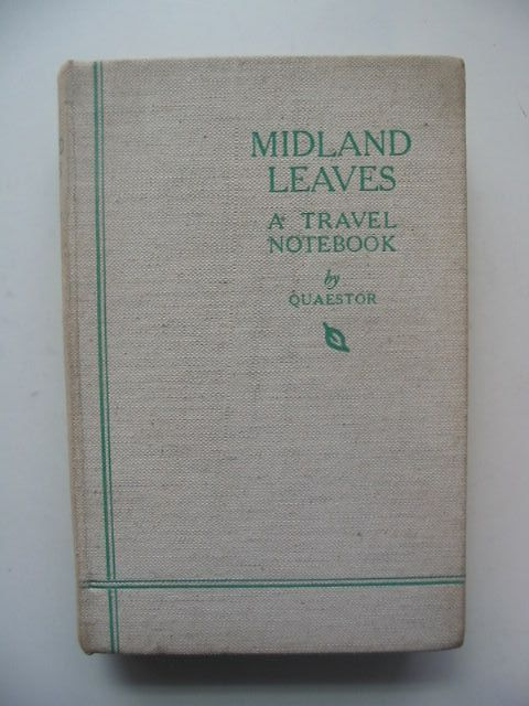 Photo of MIDLAND LEAVES written by Byford-Jones, Wilfred published by The Midland News Association (STOCK CODE: 1702532)  for sale by Stella & Rose's Books