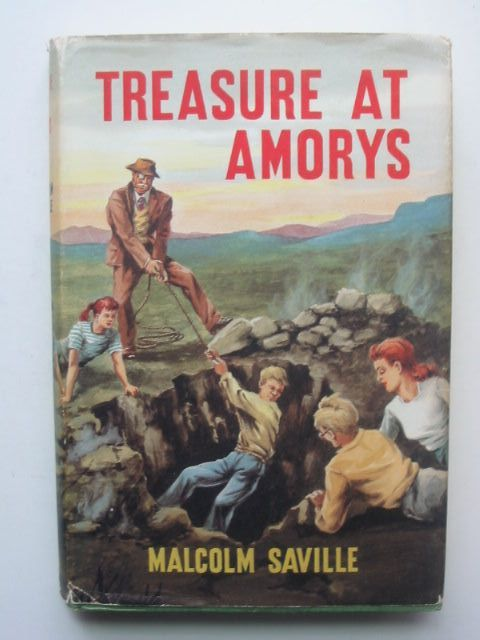 Photo of TREASURE AT AMORYS written by Saville, Malcolm illustrated by Freeman, Terence published by The Children's Book Club (STOCK CODE: 1702654)  for sale by Stella & Rose's Books