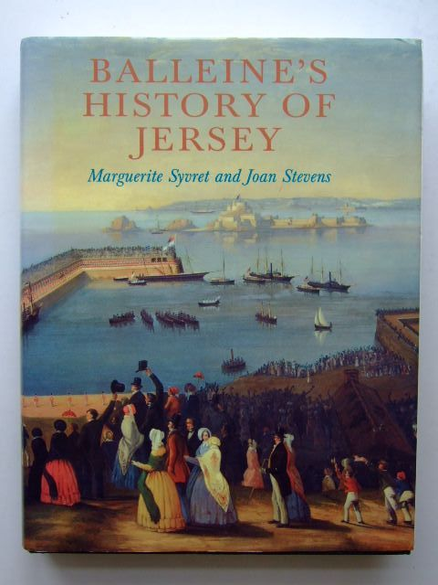 Photo of BALLEINE'S HISTORY OF JERSEY written by Balleine, G.R.<br />Syvret, Marguerite<br />Stevens, Joan published by Phillimore (STOCK CODE: 1703494)  for sale by Stella & Rose's Books