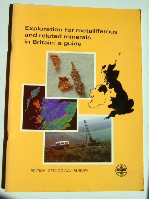 Photo of EXPLORATION FOR METALLIFEROUS AND RELATED MINERALS IN BRITAIN: A GUIDE written by Colman, T.B. published by British Geological Survey (STOCK CODE: 1703546)  for sale by Stella & Rose's Books