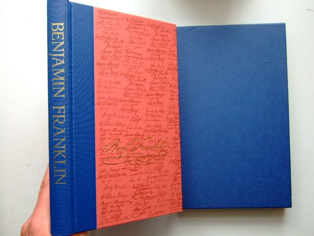 Photo of BENJAMIN FRANKLIN written by Franklin, Benjamin<br />Wright, Esmond published by Folio Society (STOCK CODE: 1703794)  for sale by Stella & Rose's Books