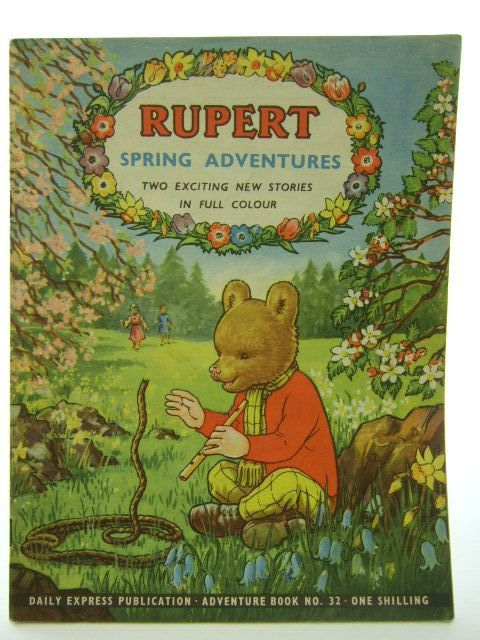 Photo of RUPERT ADVENTURE BOOK No. 32 - SPRING ADVENTURES written by Bestall, Alfred published by Daily Express (STOCK CODE: 1704567)  for sale by Stella & Rose's Books