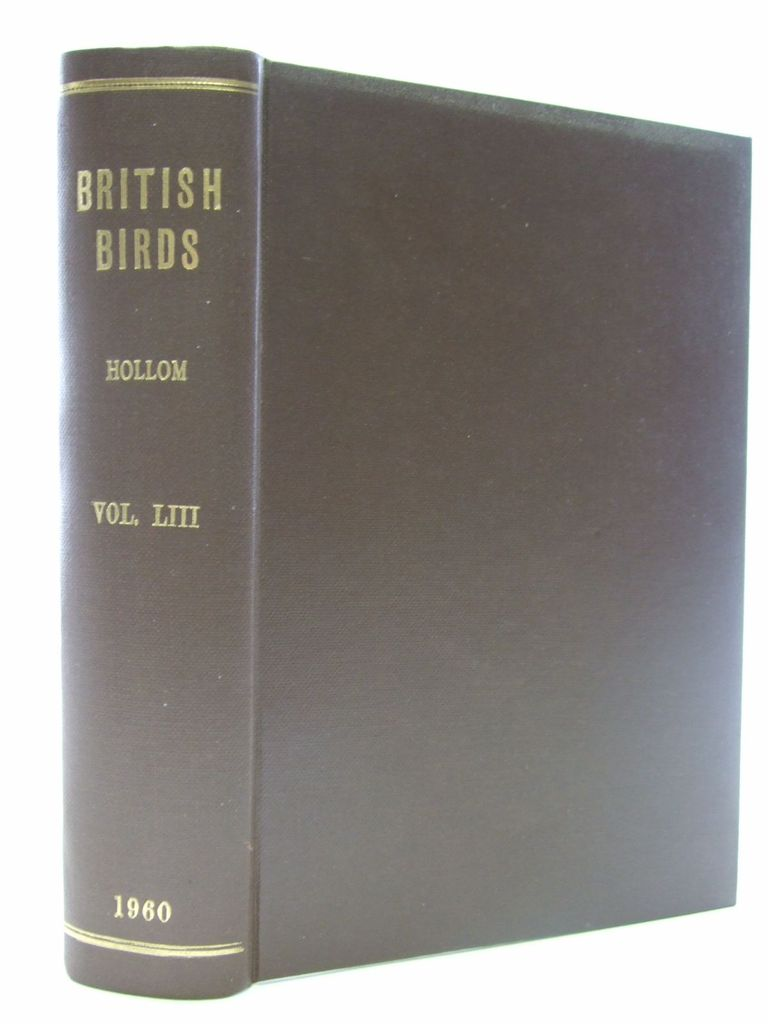 Photo of BRITISH BIRDS VOL. LIII written by Hollom, P.A.D. published by H.F. & G. Witherby Ltd. (STOCK CODE: 1705260)  for sale by Stella & Rose's Books