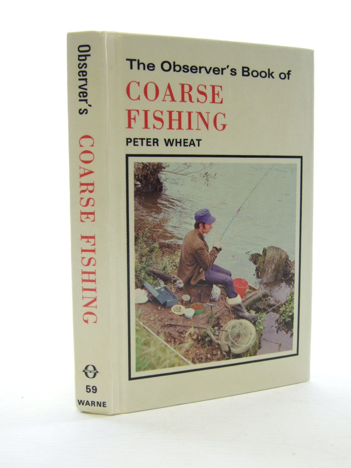Photo of THE OBSERVER'S BOOK OF COARSE FISHING written by Wheat, Peter illustrated by East, Baz published by Frederick Warne (STOCK CODE: 1705848)  for sale by Stella & Rose's Books