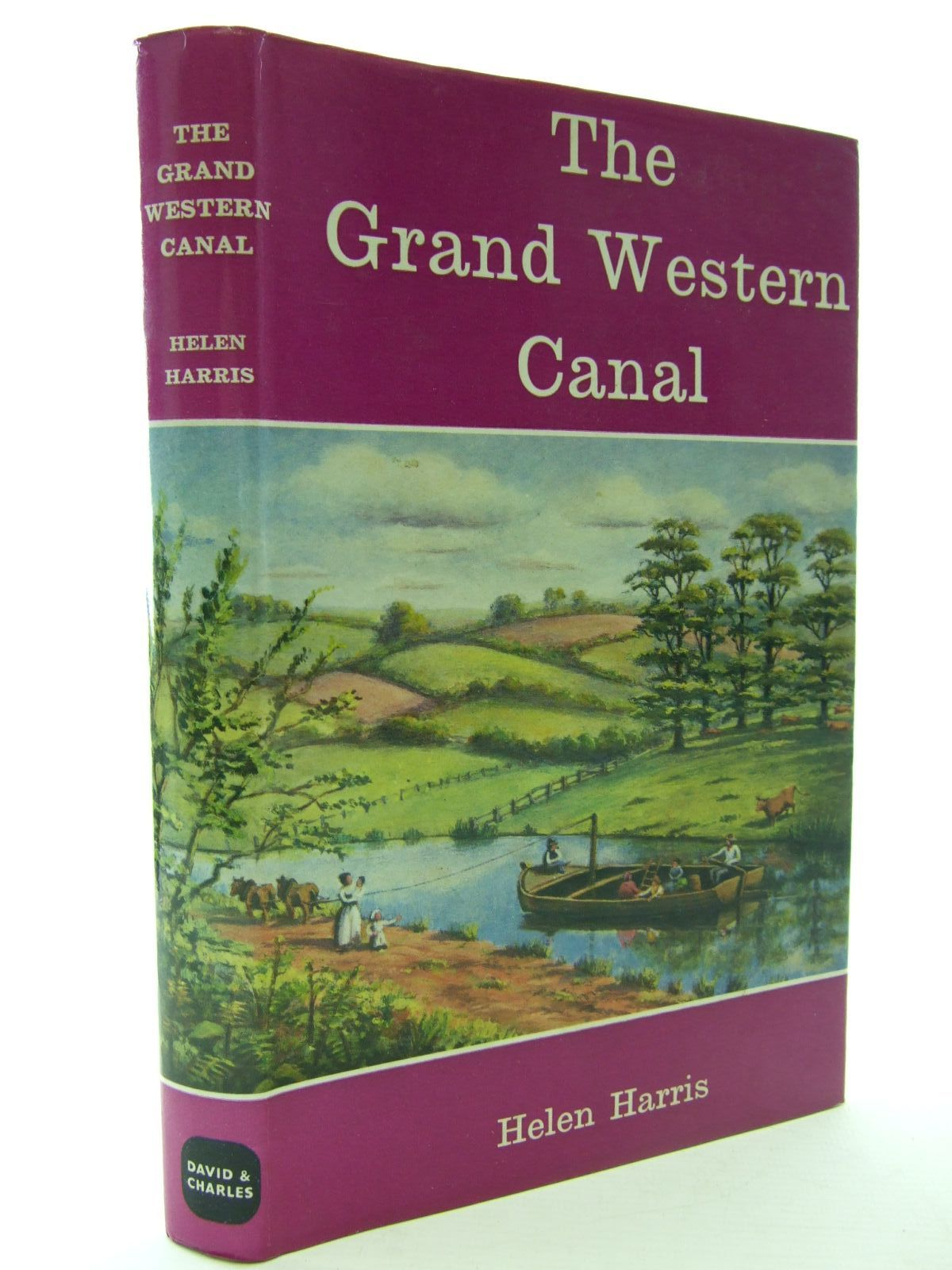 Photo of THE GRAND WESTERN CANAL written by Harris, Helen published by David & Charles (STOCK CODE: 1706064)  for sale by Stella & Rose's Books