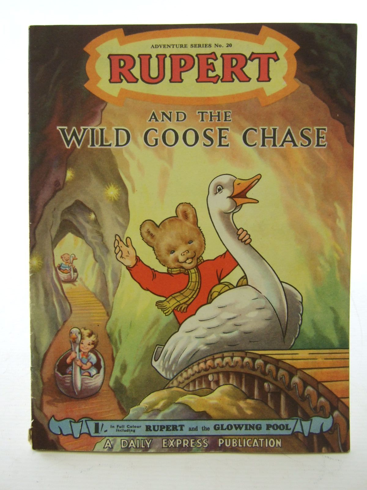 Photo of RUPERT ADVENTURE SERIES No. 20 - RUPERT AND THE WILD GOOSE CHASE written by Bestall, Alfred illustrated by Bestall, Alfred published by Daily Express (STOCK CODE: 1706110)  for sale by Stella & Rose's Books