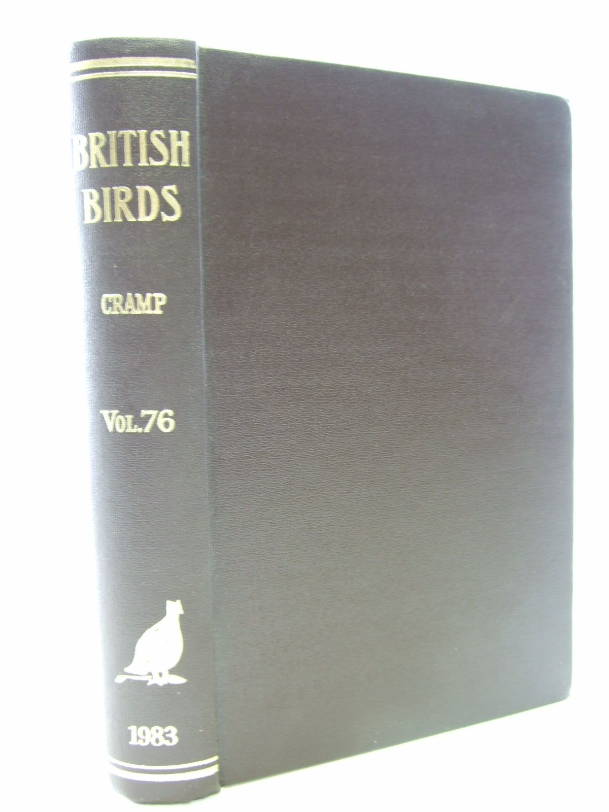 Photo of BRITISH BIRDS VOL. 76 written by Cramp, Stanley published by H.F. & G. Witherby Ltd. (STOCK CODE: 1706170)  for sale by Stella & Rose's Books