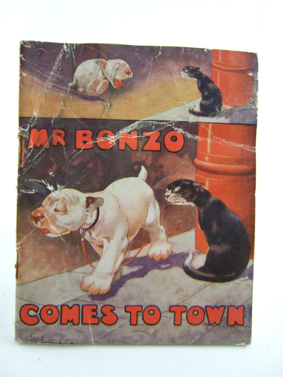 Photo of MR. BONZO COMES TO TOWN written by Studdy, G.E.<br />Jellicoe, George illustrated by Studdy, G.E. published by John Swain & Son Limited (STOCK CODE: 1706296)  for sale by Stella & Rose's Books