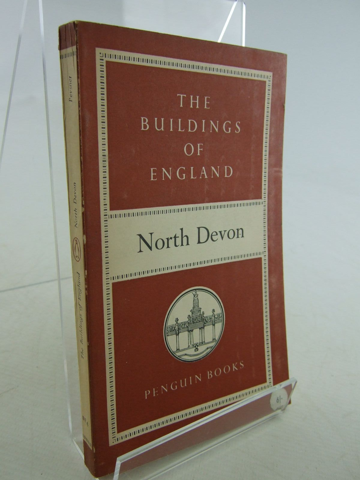 Photo of NORTH DEVON (BUILDINGS OF ENGLAND) written by Pevsner, Nikolaus published by Penguin (STOCK CODE: 1706838)  for sale by Stella & Rose's Books