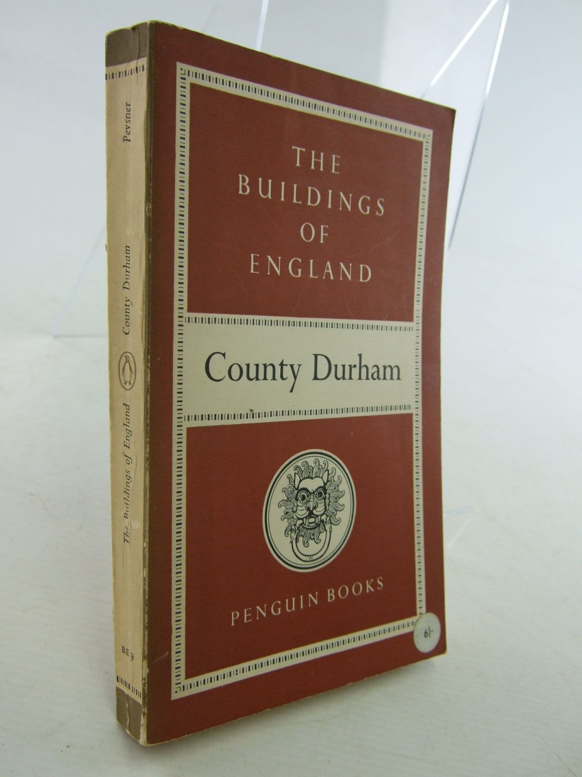 Photo of COUNTY DURHAM (BUILDINGS OF ENGLAND) written by Pevsner, Nikolaus published by Penguin (STOCK CODE: 1706850)  for sale by Stella & Rose's Books