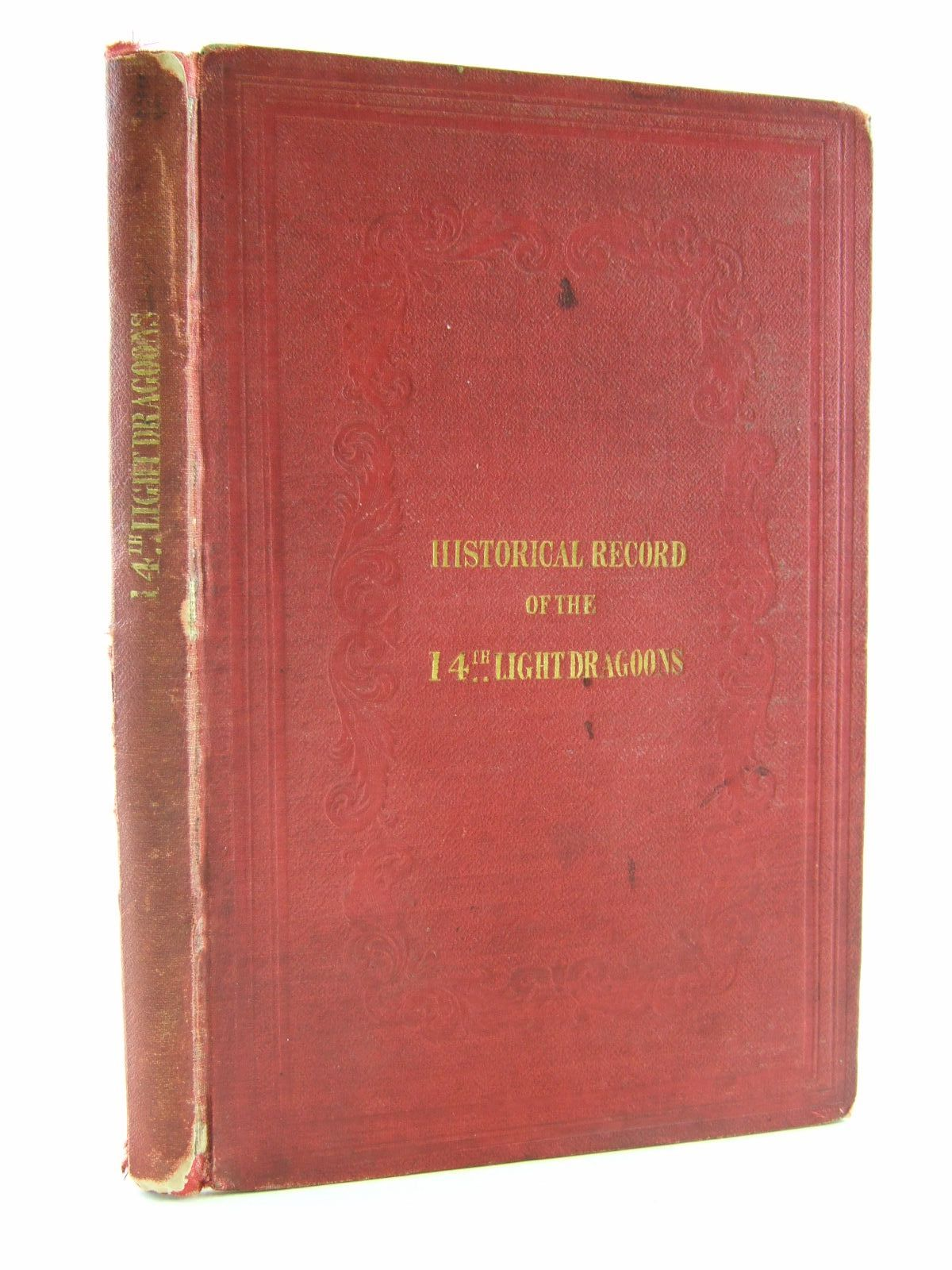 Photo of HISTORICAL RECORD OF THE FOURTEENTH OR THE KING'S REGIMENT OF LIGHT DRAGOONS written by Cannon, Richard published by Parker, Furnivall & Parker (STOCK CODE: 1706931)  for sale by Stella & Rose's Books