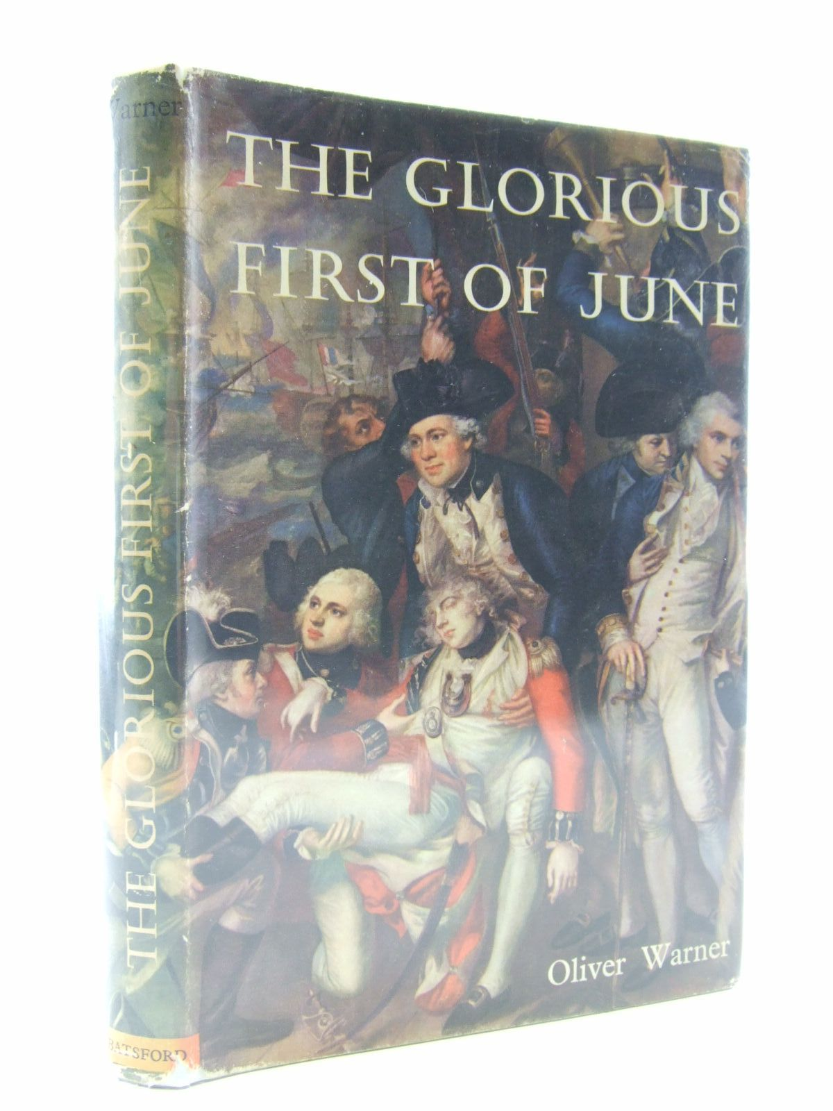 Photo of THE GLORIOUS FIRST OF JUNE written by Warner, Oliver published by B.T. Batsford (STOCK CODE: 1707029)  for sale by Stella & Rose's Books