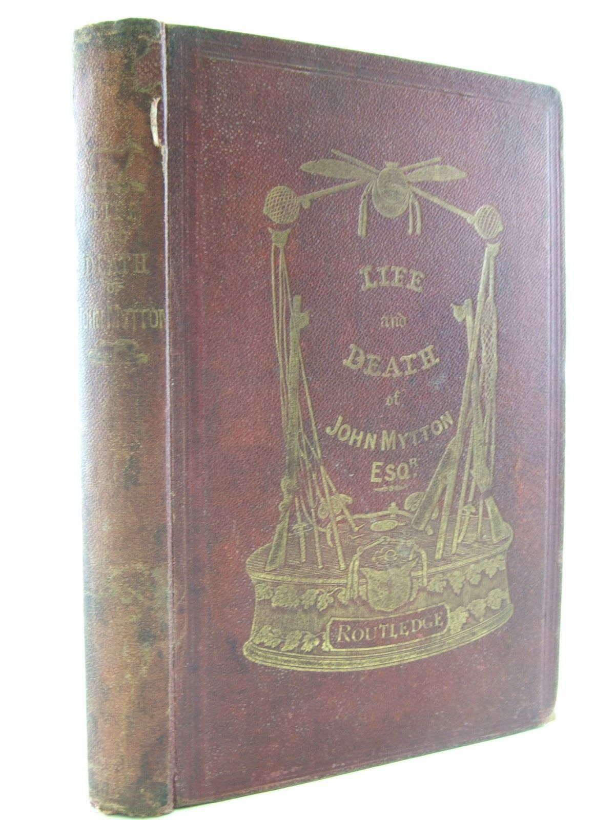 Photo of THE LIFE OF JOHN MYTTON ESQ. OF HALSTON SHROPSHIRE written by Nimrod,  illustrated by Alken, H.<br />Rawlins, T.J. published by George Routledge & Sons (STOCK CODE: 1707044)  for sale by Stella & Rose's Books