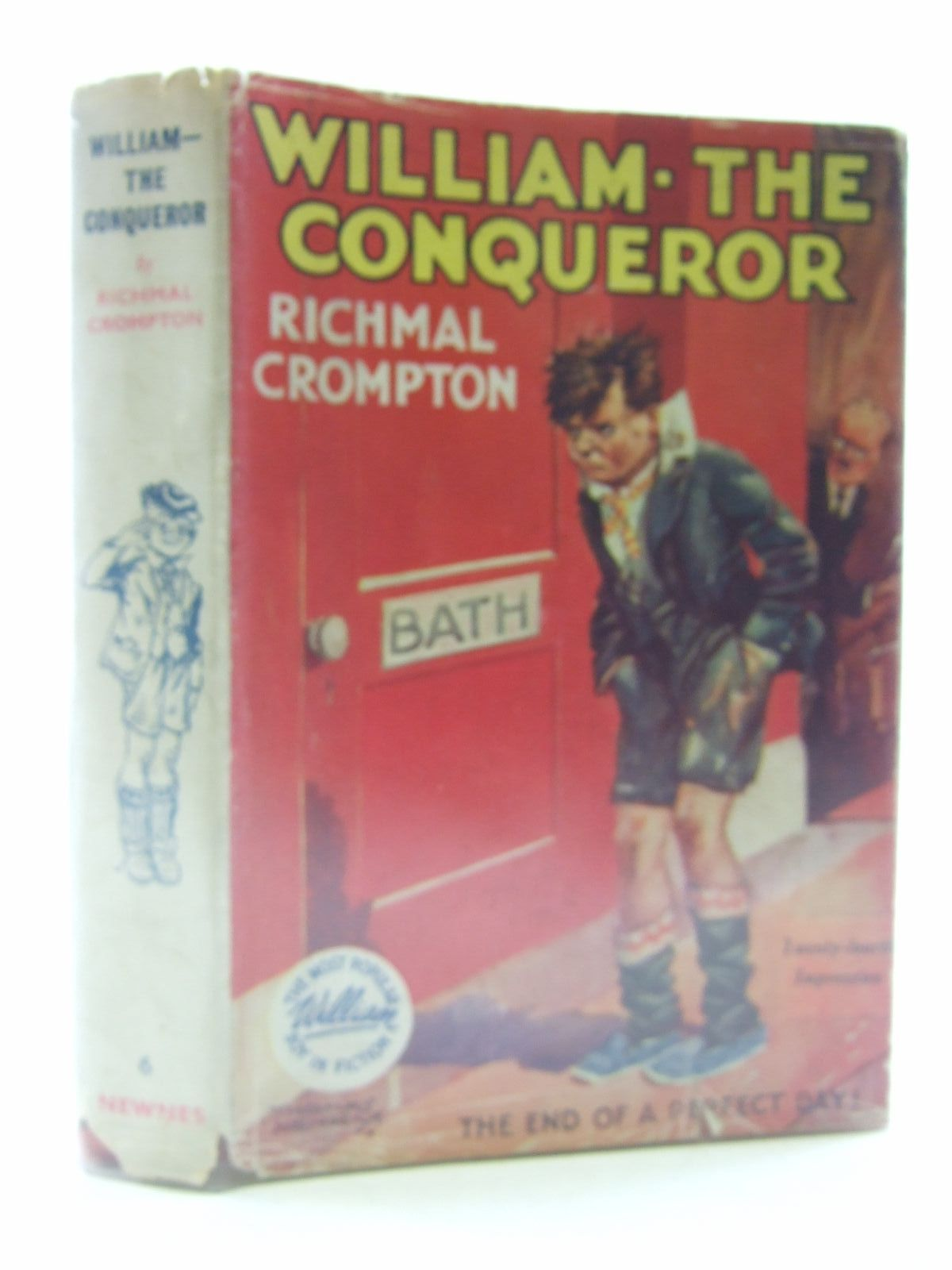 Photo of WILLIAM THE CONQUEROR written by Crompton, Richmal illustrated by Henry, Thomas published by George Newnes Limited (STOCK CODE: 1707165)  for sale by Stella & Rose's Books
