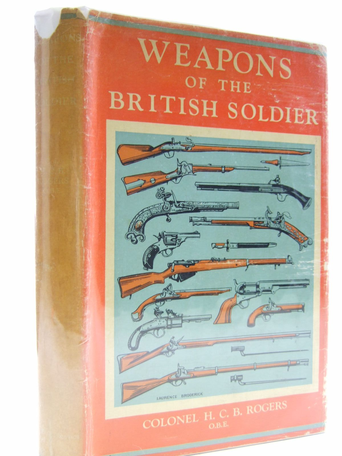 Photo of WEAPONS OF THE BRITISH SOLDIER written by Rogers, H.C.B. published by Seeley, Service & Co. (STOCK CODE: 1707518)  for sale by Stella & Rose's Books