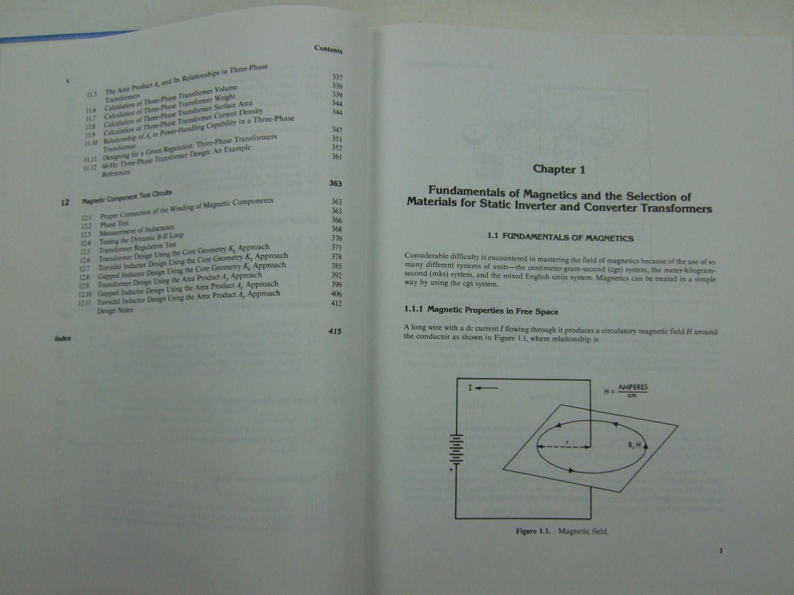 Transformer And Inductor Design Book Marcel Dekker