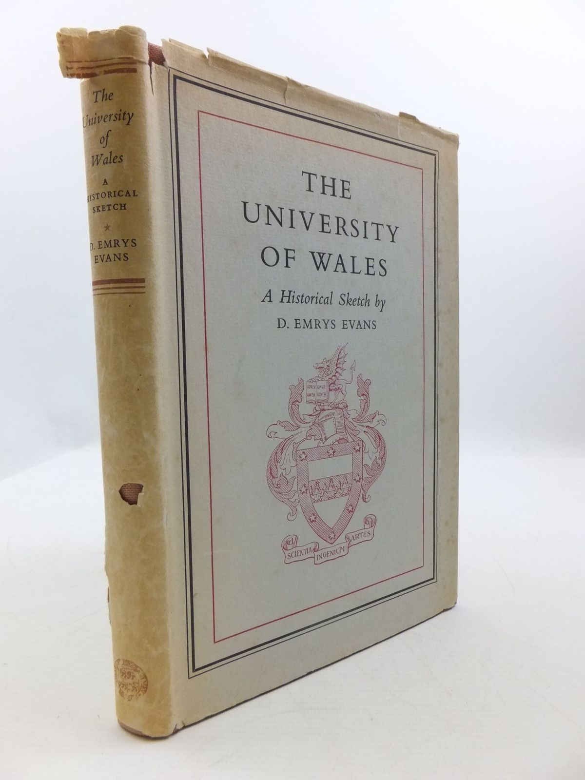 Photo of THE UNIVERSITY OF WALES written by Evans, D. Emrys published by University of Wales (STOCK CODE: 1708140)  for sale by Stella & Rose's Books