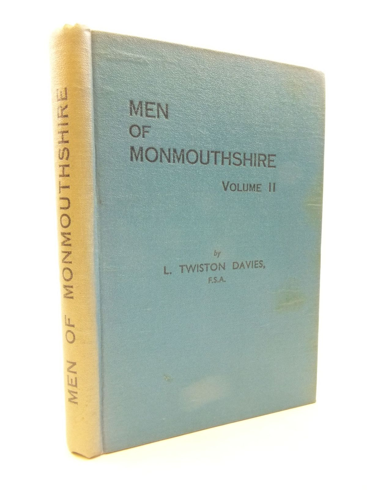 Photo of MEN OF MONMOUTHSHIRE VOLUME II written by Davies, Leonard Twiston published by Western Mail And Echo Limited (STOCK CODE: 1708141)  for sale by Stella & Rose's Books