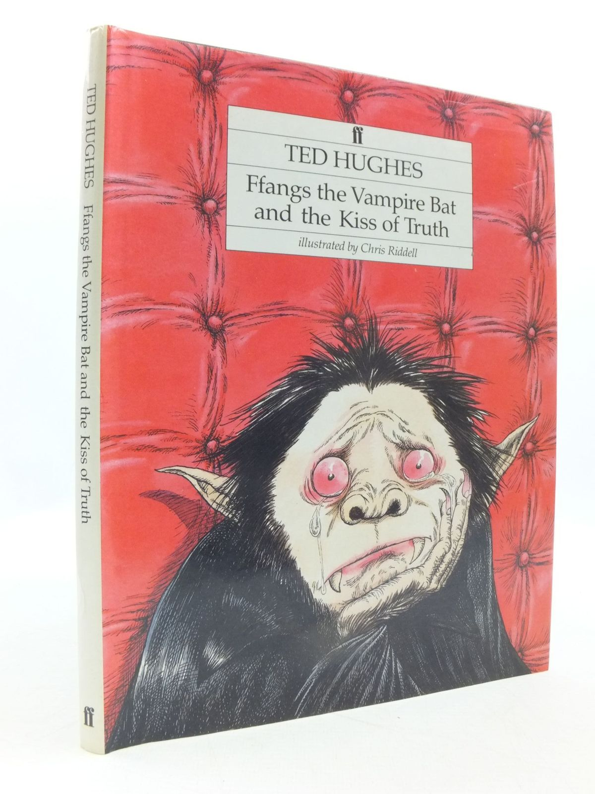 Photo of FFANGS THE VAMPIRE BAT AND THE KISS OF TRUTH written by Hughes, Ted illustrated by Riddell, Chris published by Faber & Faber (STOCK CODE: 1708199)  for sale by Stella & Rose's Books