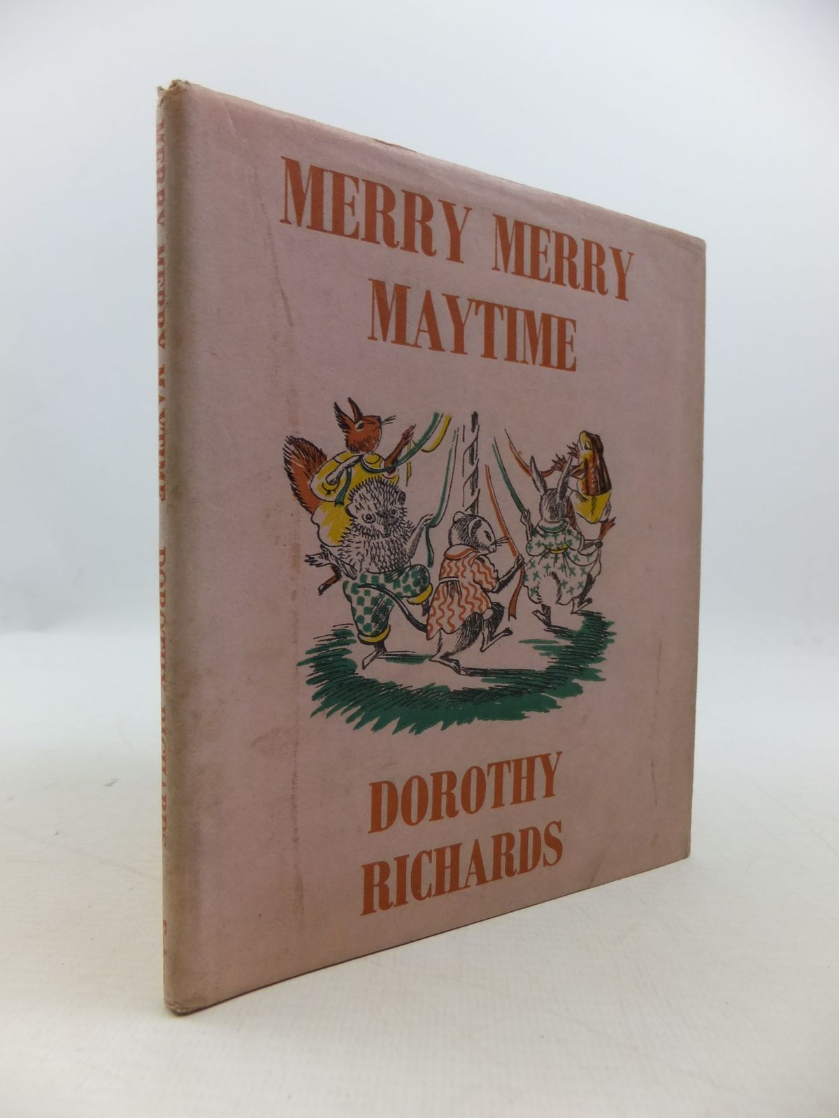 Photo of MERRY MERRY MAYTIME written by Richards, Dorothy illustrated by Thomas, Elsie published by Faber & Faber (STOCK CODE: 1708323)  for sale by Stella & Rose's Books