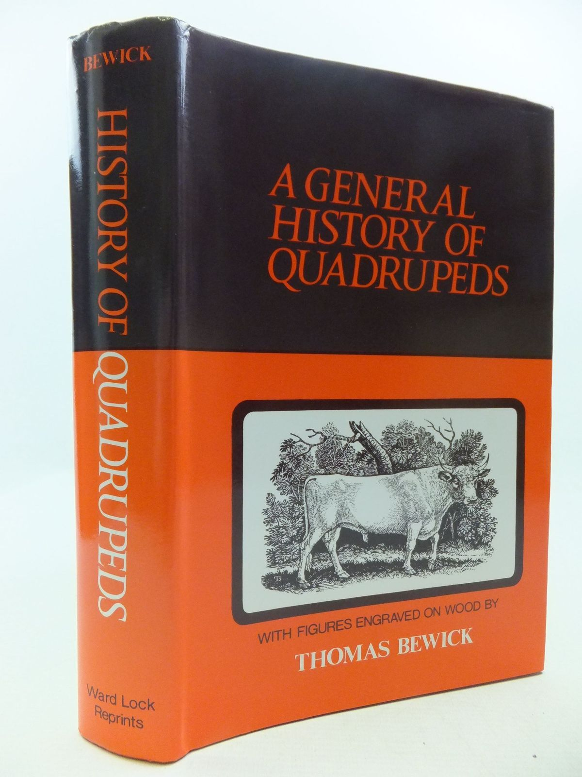 Photo of A GENERAL HISTORY OF QUADRUPEDS written by Bewick, Thomas illustrated by Bewick, Thomas published by Ward Lock Reprints (STOCK CODE: 1708866)  for sale by Stella & Rose's Books