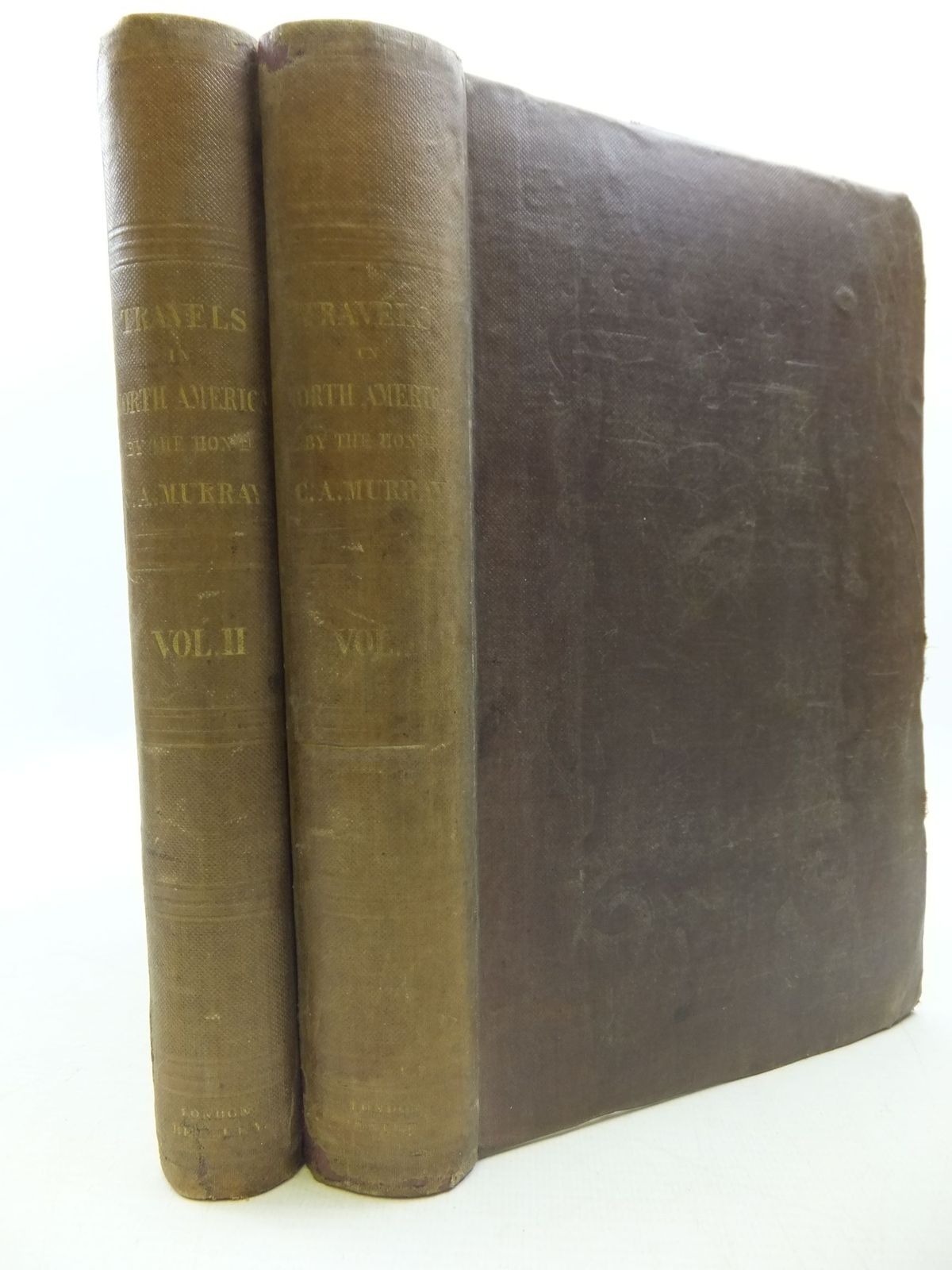 Photo of TRAVELS IN NORTH AMERICA DURING THE YEARS 1834, 1835 AND 1836 INCLUDING A SUMMER RESIDENCE WITH THE PAWNEE TRIBE OF INDIANS, IN THE REMOTE PRAIRIES OF THE MISSOURI, AND A VISIT TO CUBA AND THE AZORE ISLANDS written by Murray, Charles Augustus published by Richard Bentley (STOCK CODE: 1708934)  for sale by Stella & Rose's Books