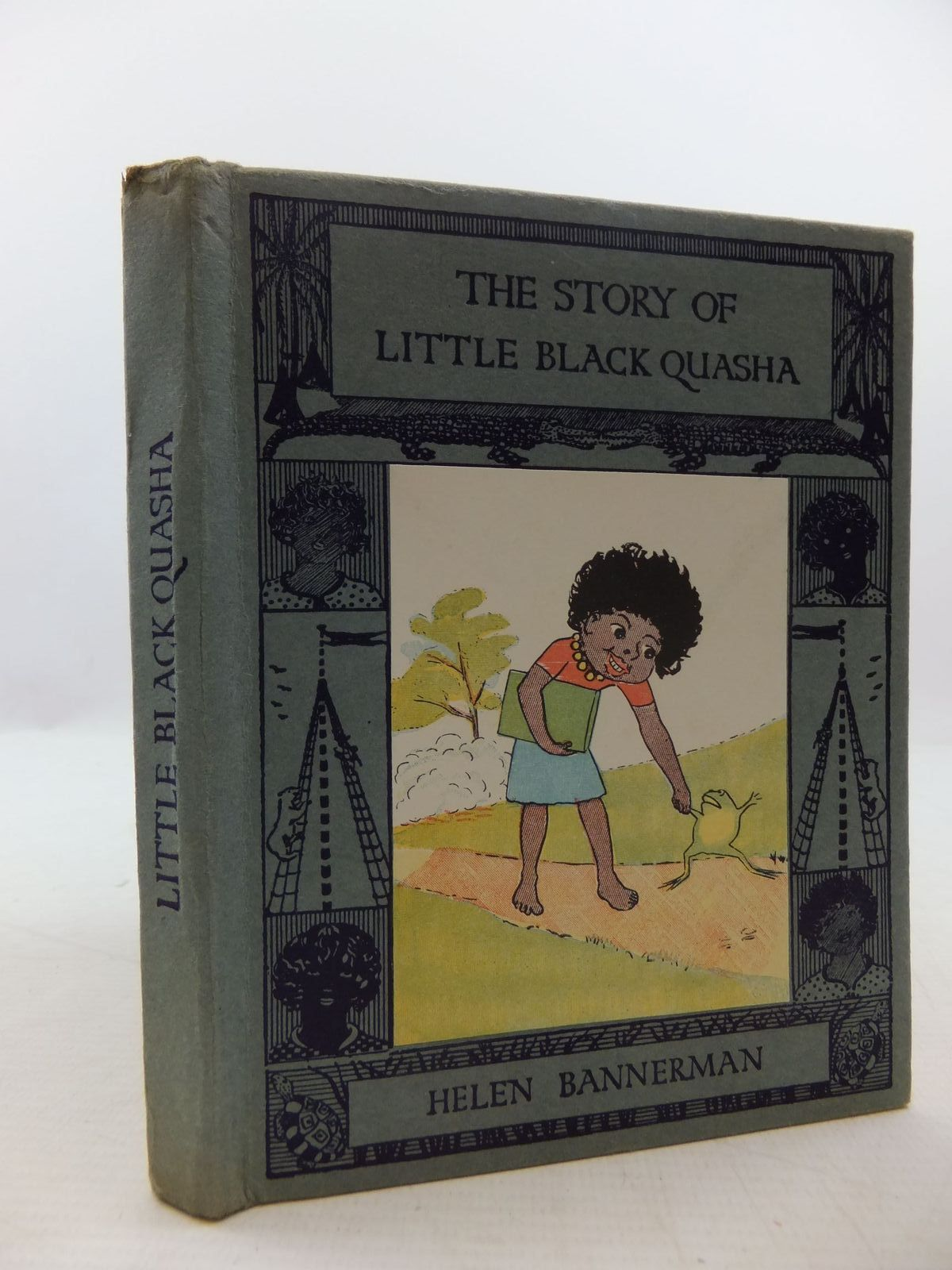 Photo of THE STORY OF LITTLE BLACK QUASHA written by Bannerman, Helen illustrated by Bannerman, Helen published by Nisbet & Co. Ltd. (STOCK CODE: 1708990)  for sale by Stella & Rose's Books