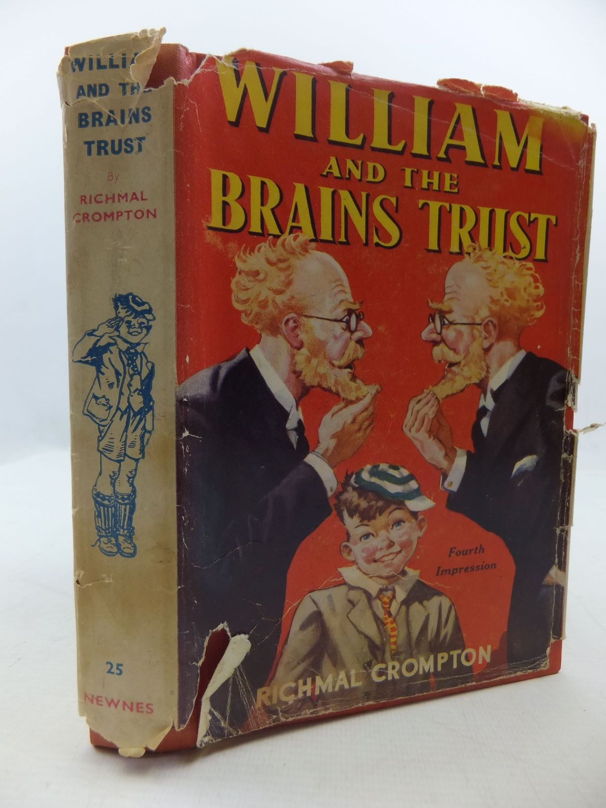 Photo of WILLIAM AND THE BRAINS TRUST written by Crompton, Richmal illustrated by Henry, Thomas published by George Newnes Ltd. (STOCK CODE: 1709006)  for sale by Stella & Rose's Books