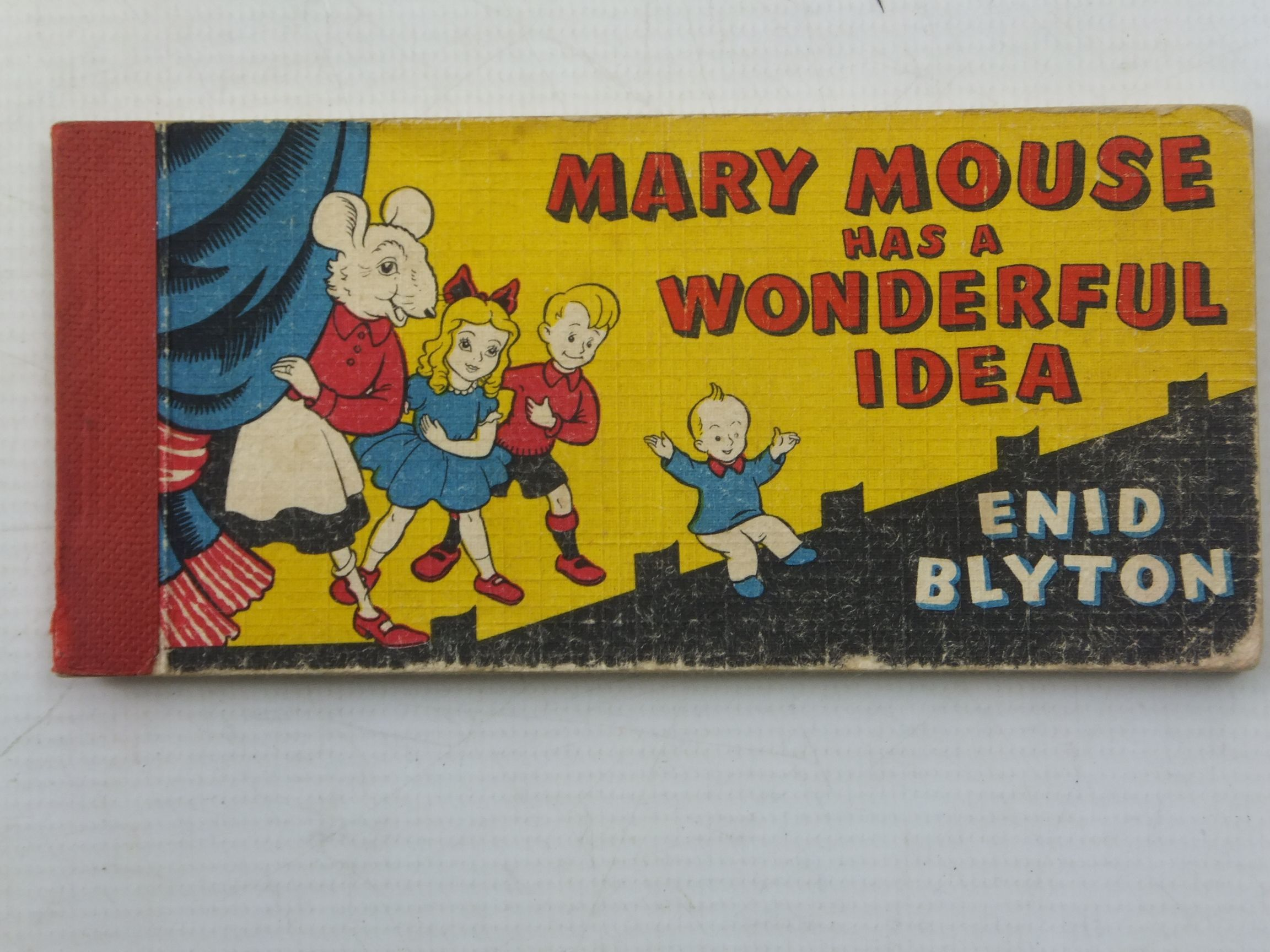 Photo of MARY MOUSE HAS A WONDERFUL IDEA written by Blyton, Enid illustrated by White, Fred published by Brockhampton Press (STOCK CODE: 1709344)  for sale by Stella & Rose's Books