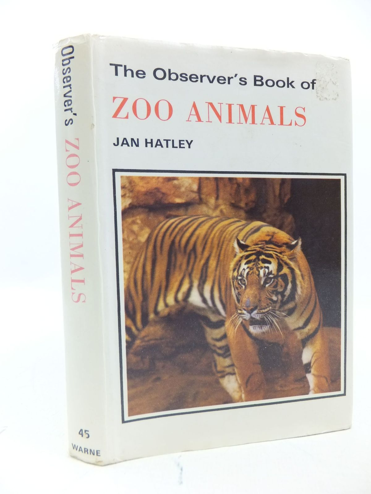 Photo of THE OBSERVER'S BOOK OF ZOO ANIMALS written by Hatley, Jan published by Frederick Warne (STOCK CODE: 1709418)  for sale by Stella & Rose's Books