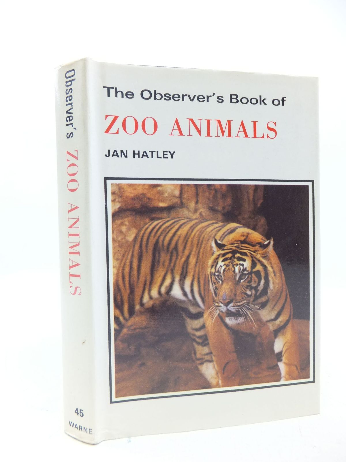 Photo of THE OBSERVER'S BOOK OF ZOO ANIMALS written by Hatley, Jan published by Frederick Warne (STOCK CODE: 1709420)  for sale by Stella & Rose's Books