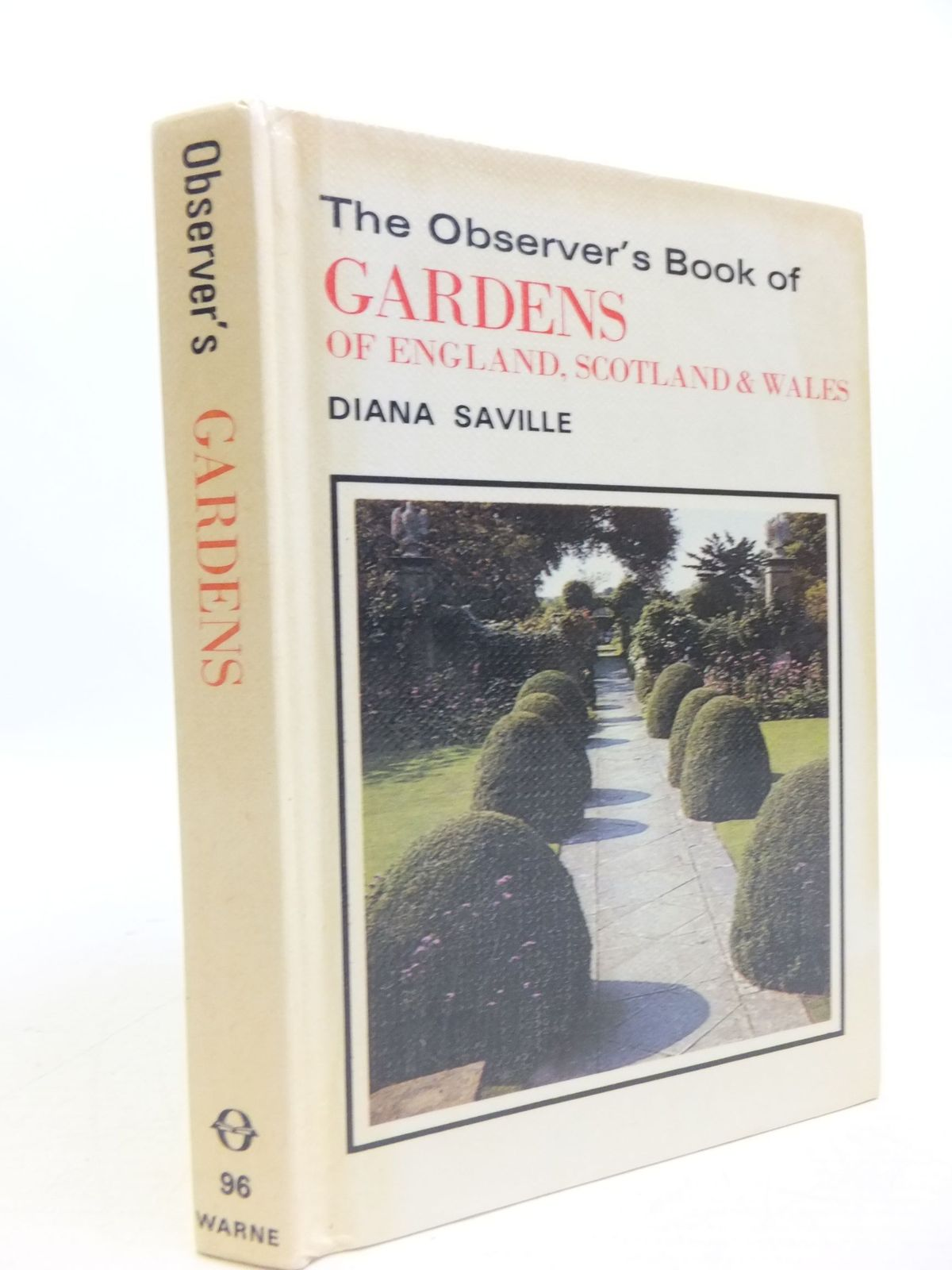 Photo of THE OBSERVER'S BOOK OF GARDENS OF ENGLAND, SCOTLAND & WALES written by Saville, Diana published by Frederick Warne & Co Ltd. (STOCK CODE: 1709514)  for sale by Stella & Rose's Books