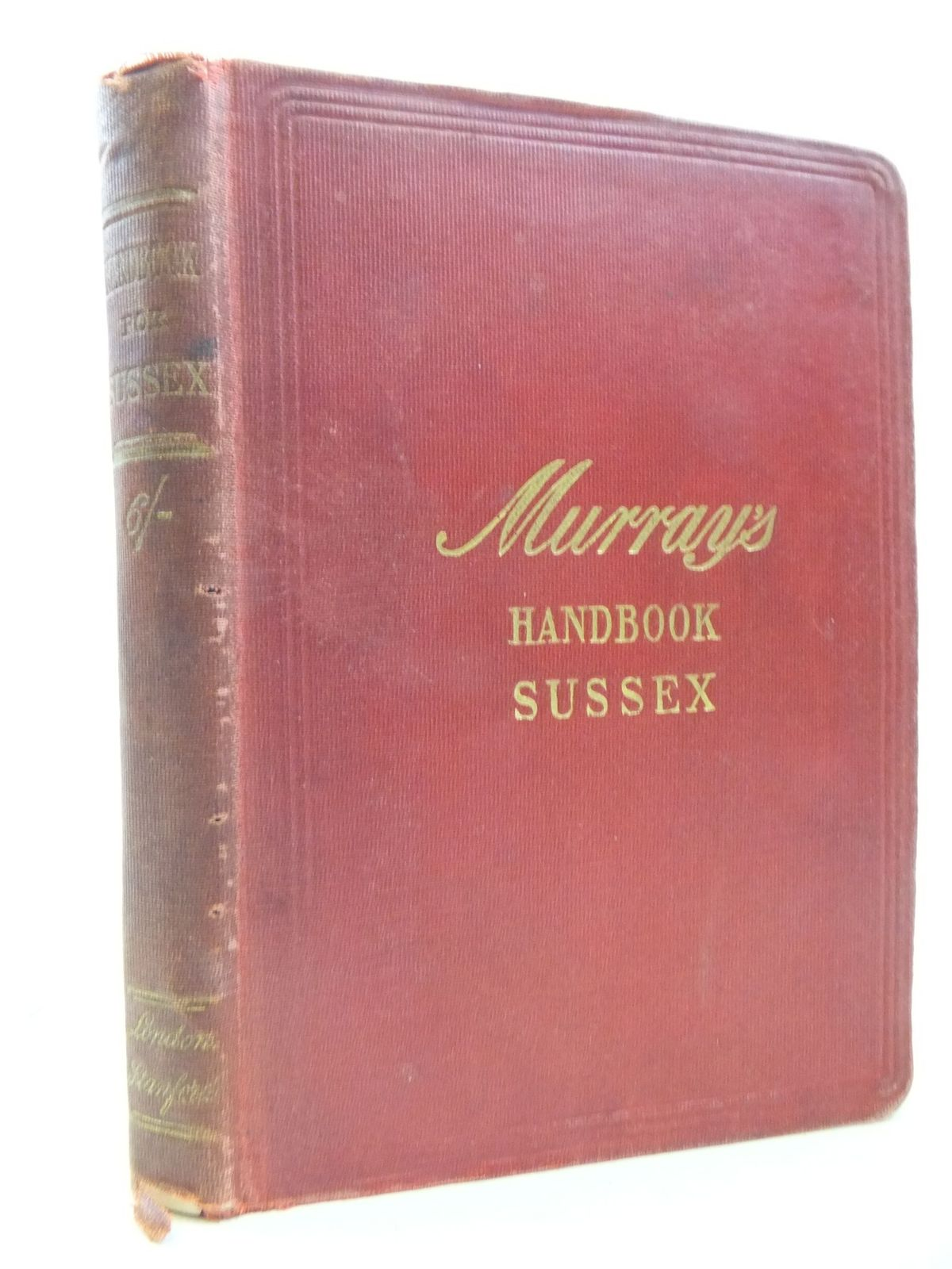 Photo of HANDBOOK FOR TRAVELLERS IN SUSSEX published by John Murray (STOCK CODE: 1709583)  for sale by Stella & Rose's Books