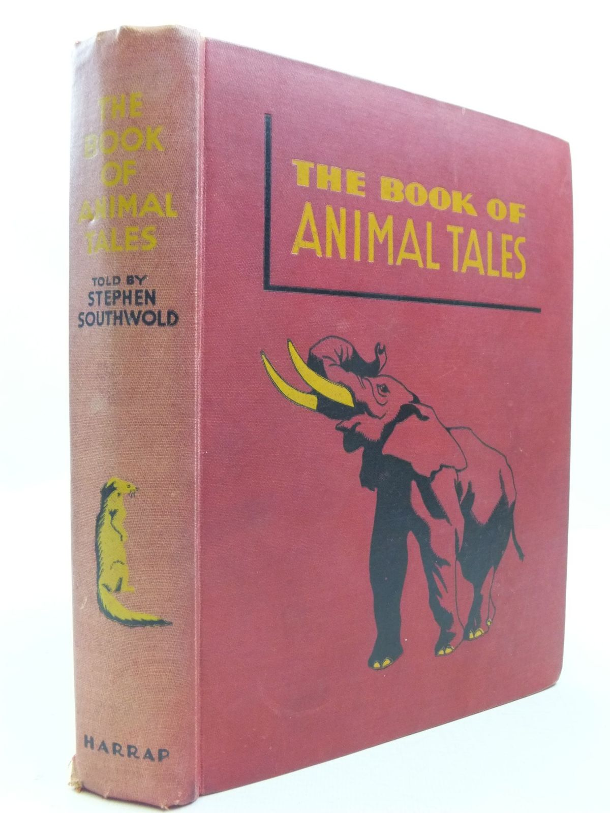 Photo of THE BOOK OF ANIMAL TALES written by Southwold, Stephen illustrated by Appleton, Honor C. published by George G. Harrap & Co. Ltd. (STOCK CODE: 1709712)  for sale by Stella & Rose's Books