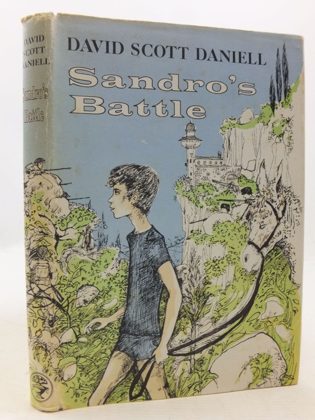 Photo of SANDRO'S BATTLE written by Daniell, David Scott illustrated by Spencer, Colin published by Jonathan Cape (STOCK CODE: 1709714)  for sale by Stella & Rose's Books