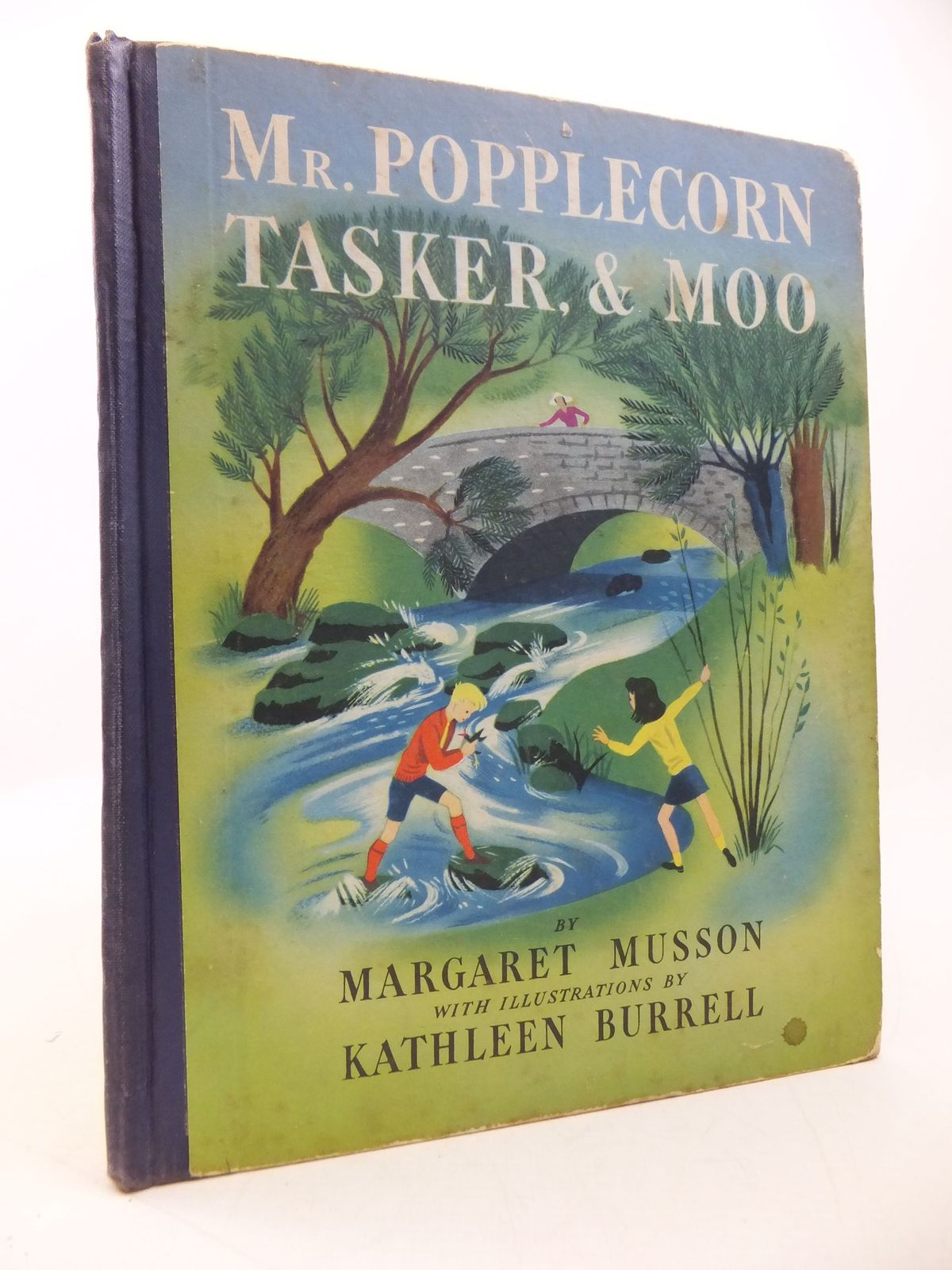 Photo of MR POPPLECORN TASKER AND MOO written by Musson, Margaret illustrated by Burrell, Kathleen published by The Causeway Company (STOCK CODE: 1709721)  for sale by Stella & Rose's Books