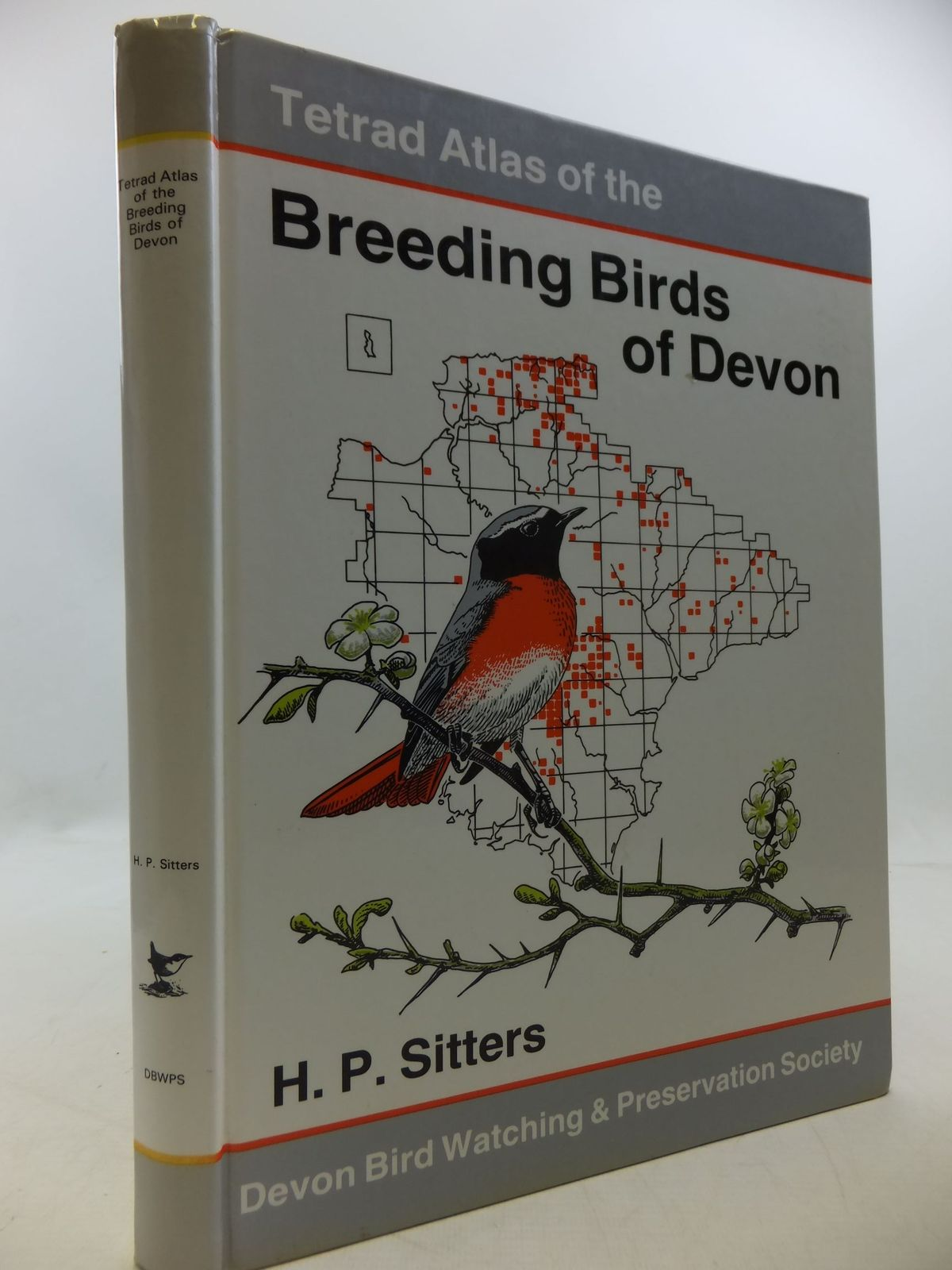 Photo of TETRAD ATLAS OF THE BREEDING BIRDS OF DEVON written by Sitters, H.P. illustrated by Langman, Mike<br />Lawrence, A published by The Devon Birdwatching And Preservation Society (STOCK CODE: 1709811)  for sale by Stella & Rose's Books