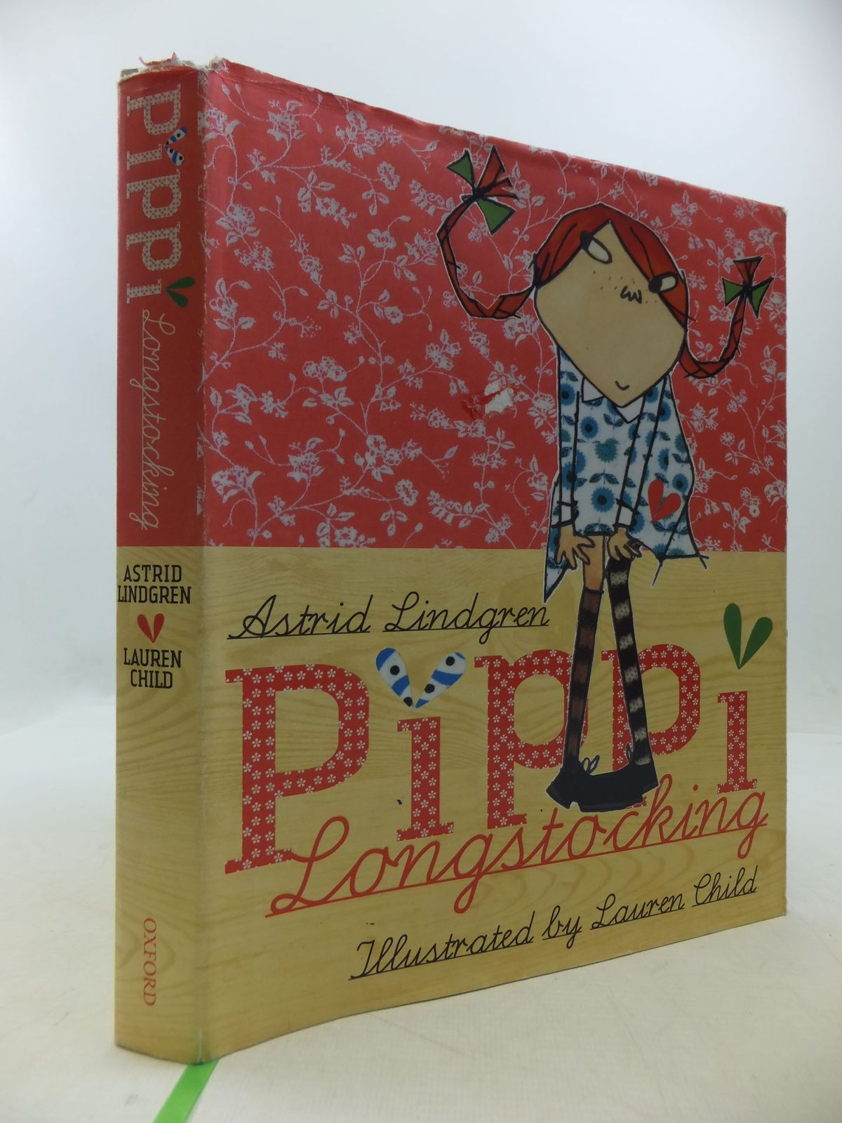 Photo of PIPPI LONGSTOCKING written by Lindgren, Astrid<br />Nunnally, Tiina illustrated by Child, Lauren published by Oxford University Press (STOCK CODE: 1709845)  for sale by Stella & Rose's Books