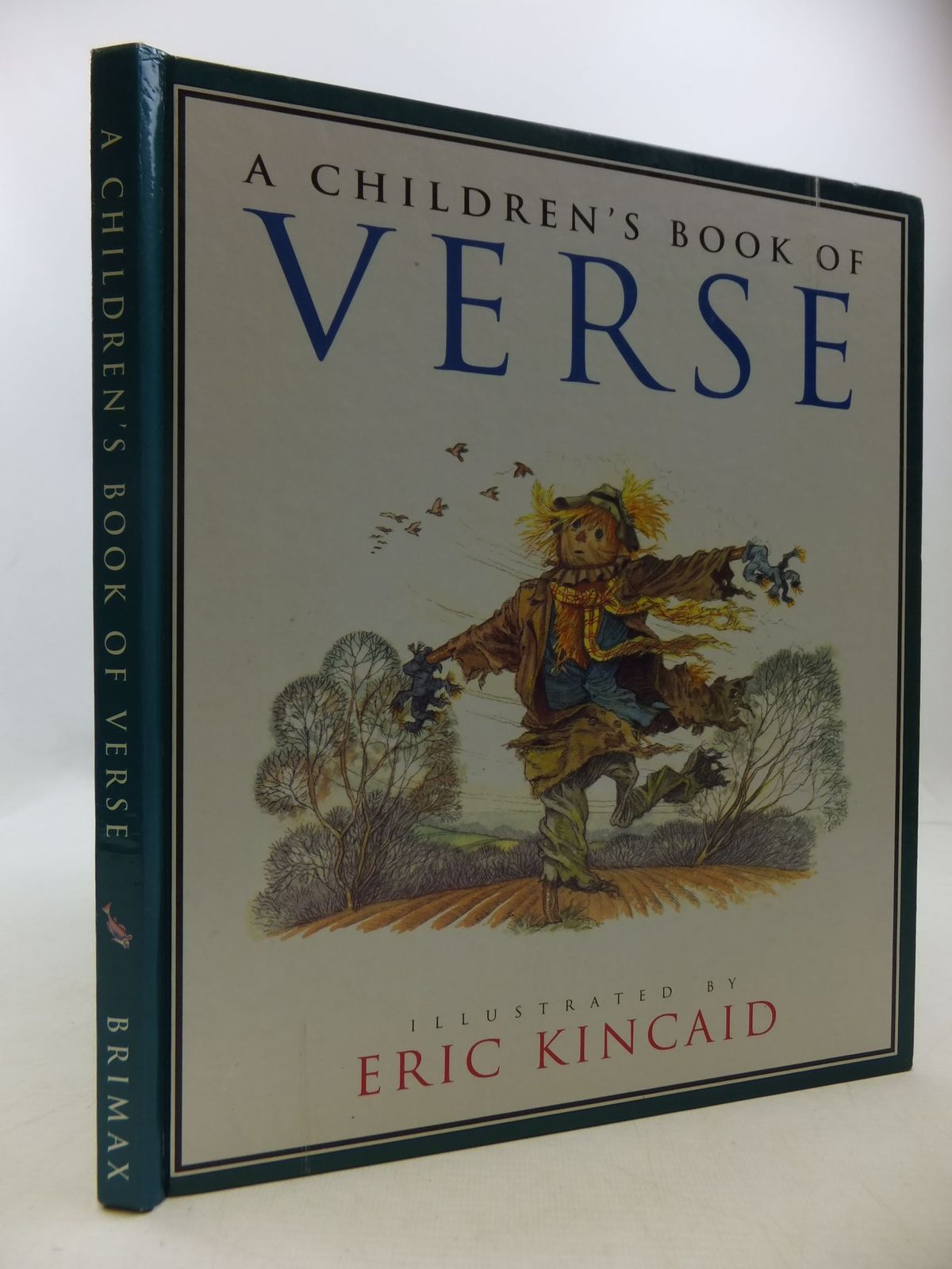Photo of A CHILDREN'S BOOK OF VERSE written by Rogers, Marjorie illustrated by Kincaid, Eric published by Brimax Books (STOCK CODE: 1709847)  for sale by Stella & Rose's Books