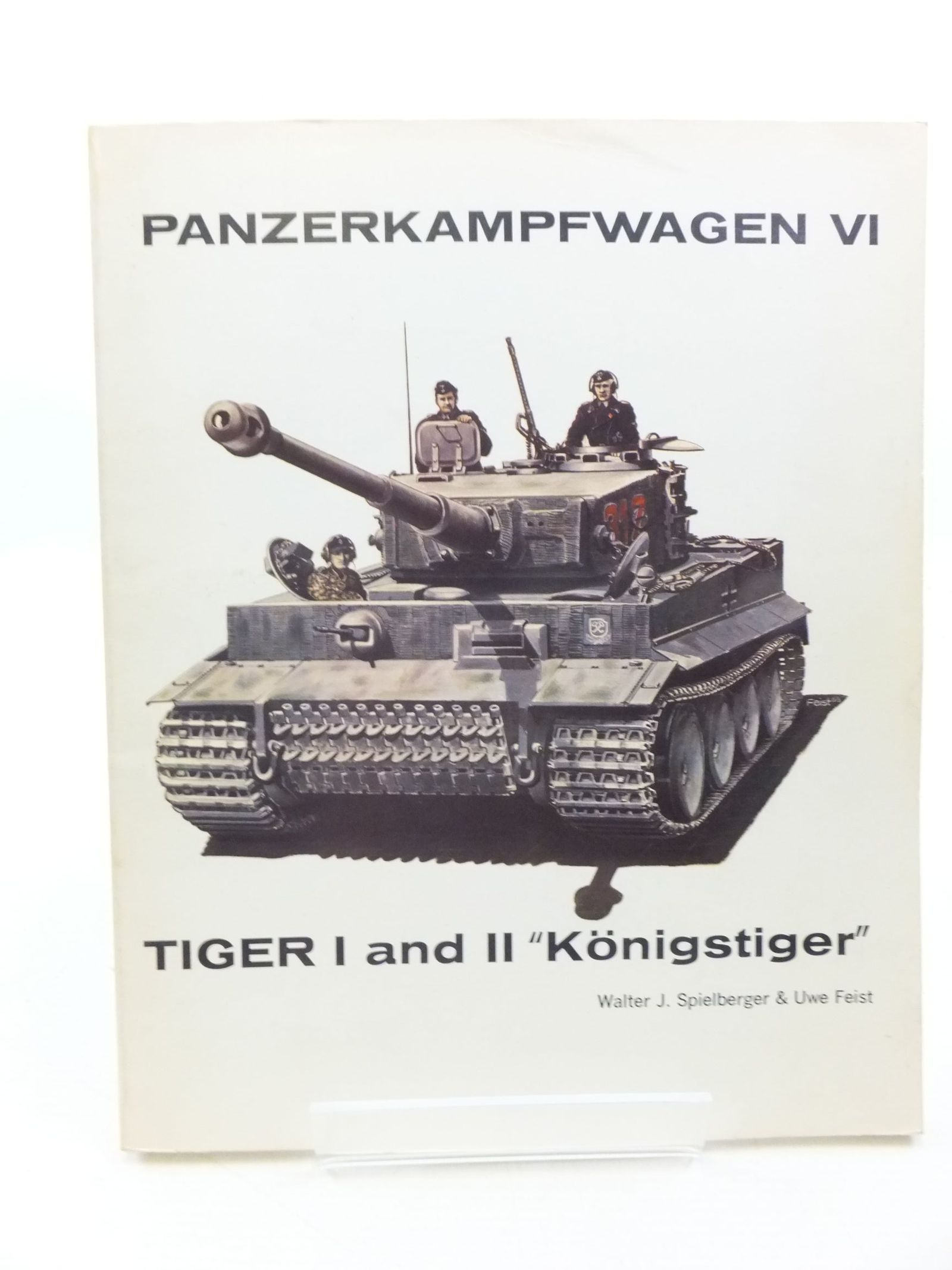 Photo of PANZERKAMPFWAGEN VI TIGER I AND II 'KONIGSTIGER' written by Spielberger, Walter J. illustrated by Doyle, Hilary<br />Dyer, Phil published by Aero Publishers (STOCK CODE: 1710043)  for sale by Stella & Rose's Books