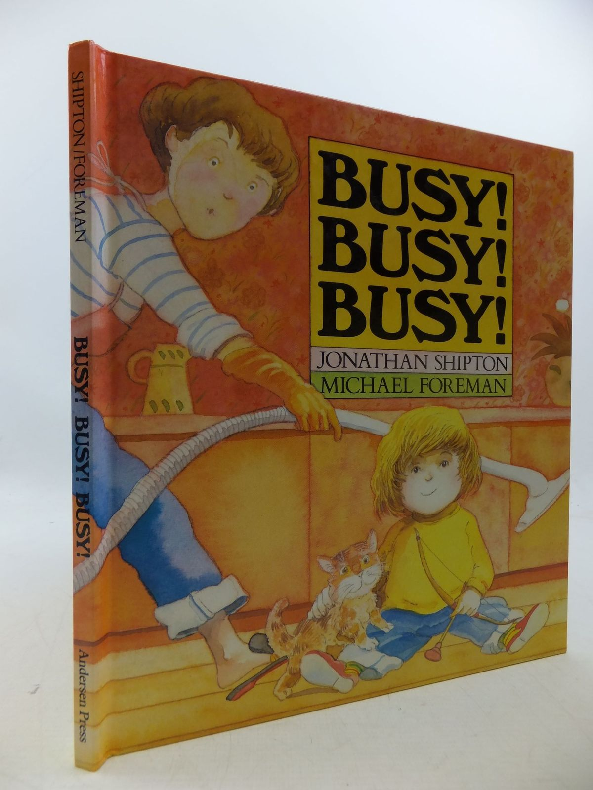 Photo of BUSY! BUSY! BUSY! written by Shipton, Jonathan illustrated by Foreman, Michael published by Andersen Press (STOCK CODE: 1710148)  for sale by Stella & Rose's Books