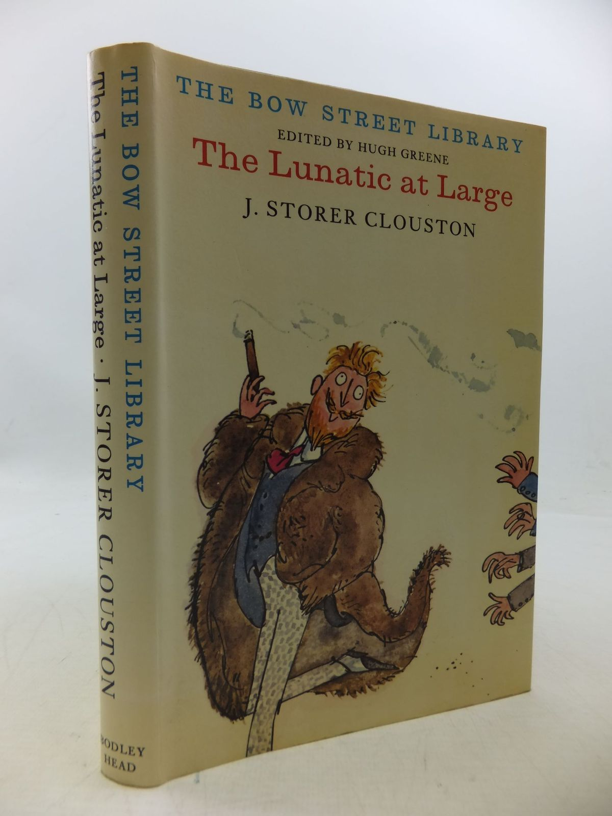 Photo of THE LUNATIC AT LARGE written by Clouston, J. Storer<br />Greene, Hugh illustrated by Blake, Quentin published by The Bodley Head (STOCK CODE: 1710188)  for sale by Stella & Rose's Books
