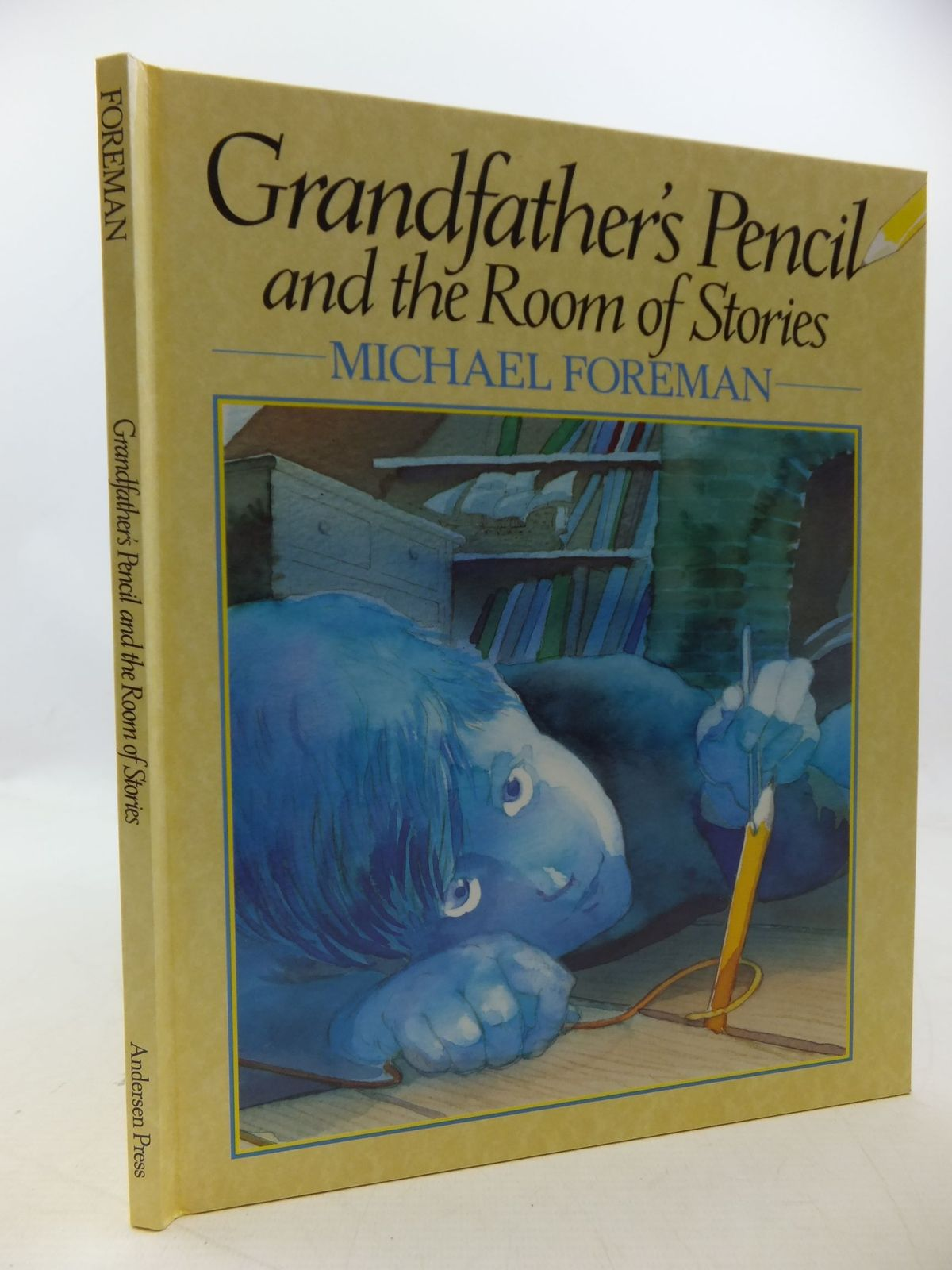 Photo of GRANDFATHER'S PENCIL AND THE ROOM OF STORIES written by Foreman, Michael illustrated by Foreman, Michael published by Andersen Press Ltd. (STOCK CODE: 1710212)  for sale by Stella & Rose's Books