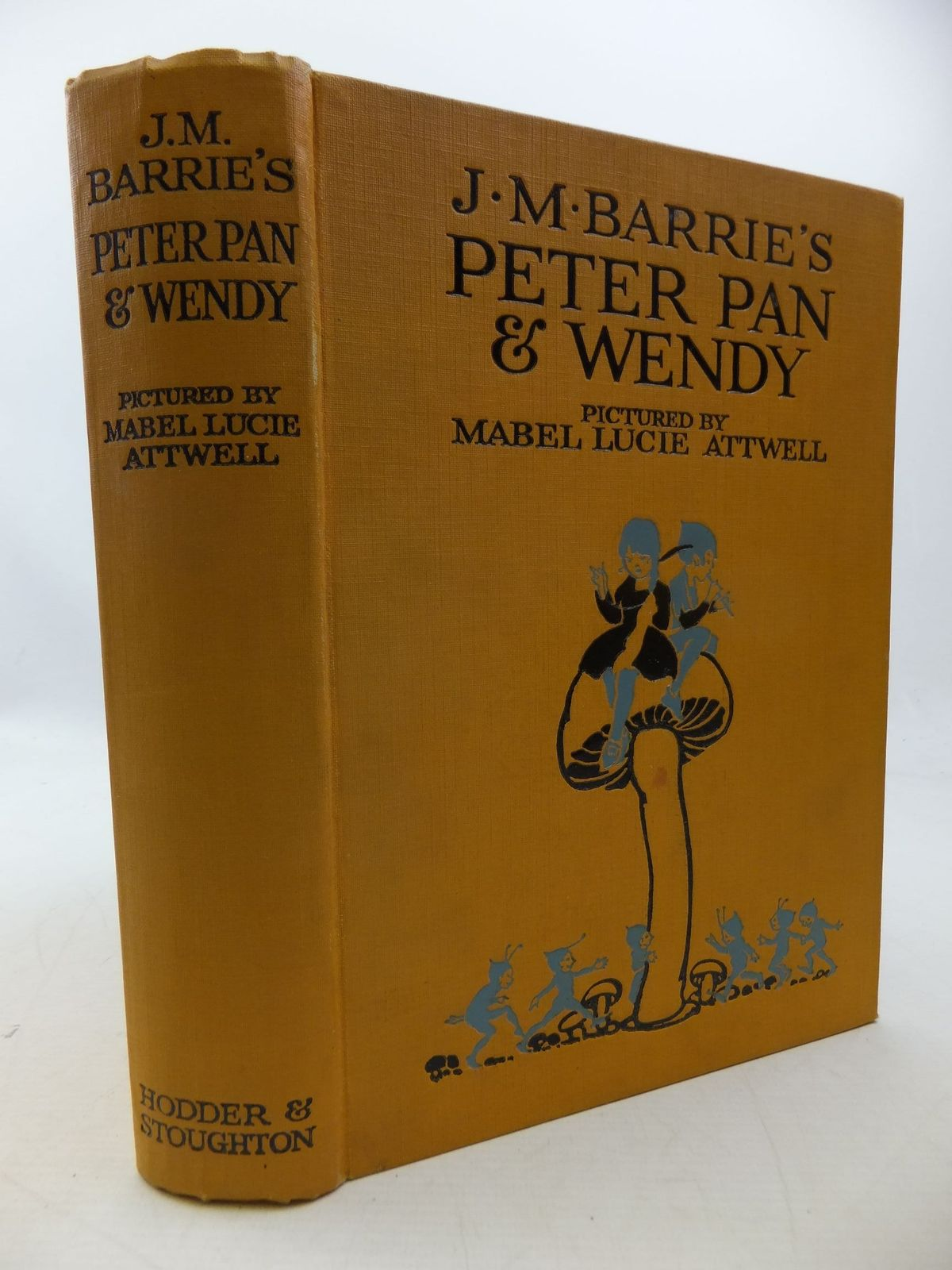 Photo of PETER PAN AND WENDY written by Barrie, J.M. illustrated by Attwell,  Mabel