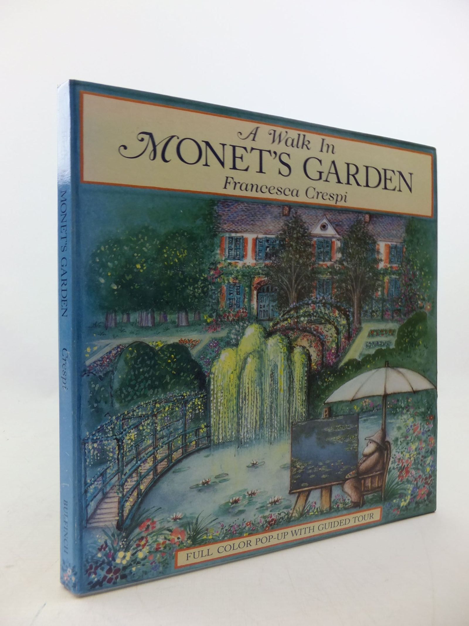 Photo of A WALK IN MONET'S GARDEN written by Crespi, Francesca illustrated by Monet, Claude published by Bulfinch Press (STOCK CODE: 1710321)  for sale by Stella & Rose's Books