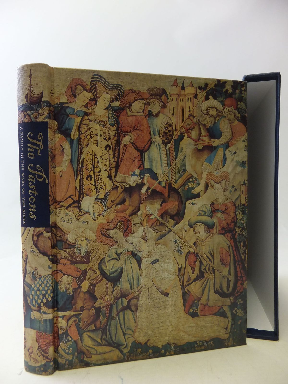 Photo of THE PASTONS written by Barber, Richard published by Folio Society (STOCK CODE: 1710366)  for sale by Stella & Rose's Books